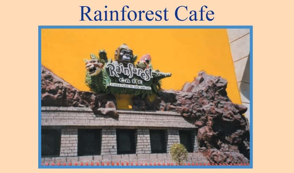 Rain Forest Cafe, Mexico