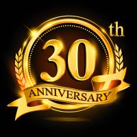 30th Anniversary logo - ScaleBlaster Water Conditioner