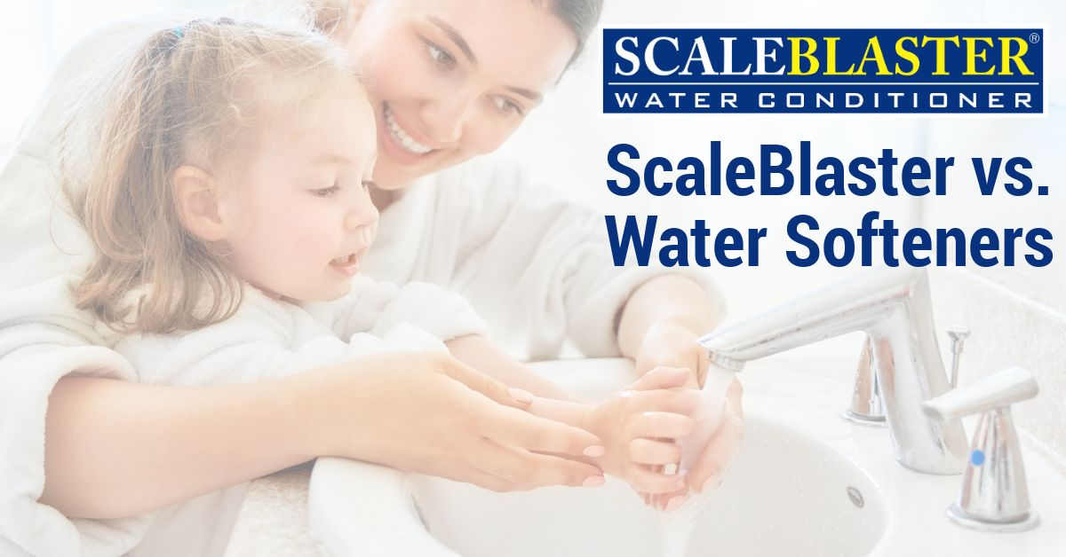ScaleBlaster Water Softeners - ScaleBlaster vs. Water Softeners