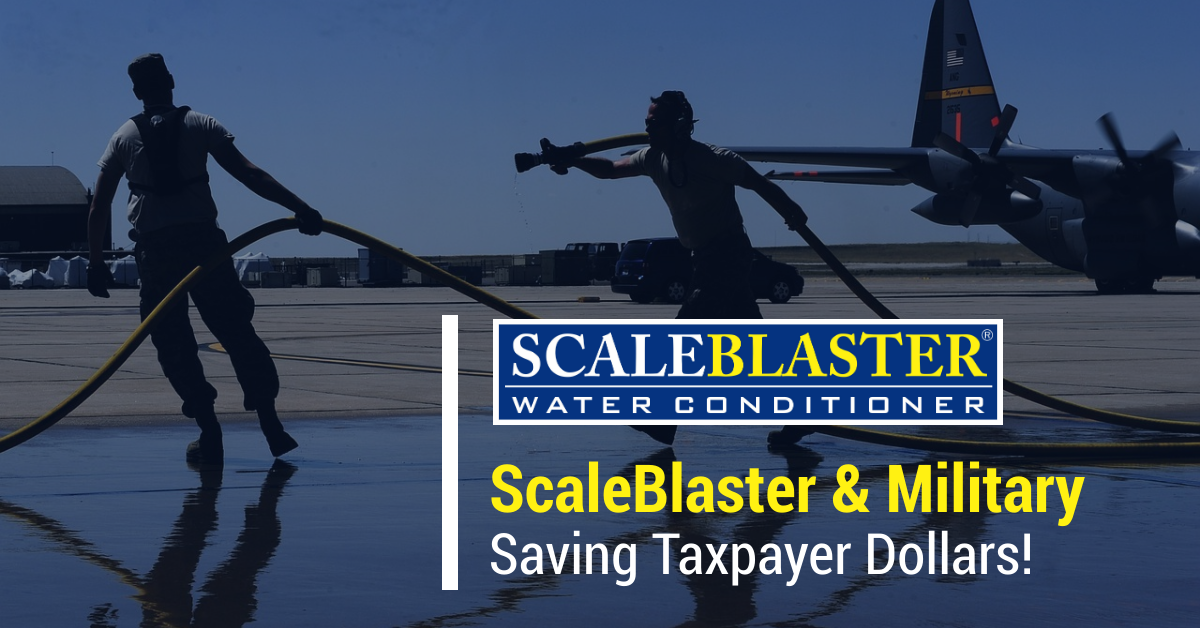 Scaleblaster Military Saving Dollars - ScaleBlaster & Military - Saving Taxpayer Dollars!